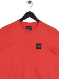 Marshall Artist Siren Short Sleeve Crew Neck T-Shirt Red