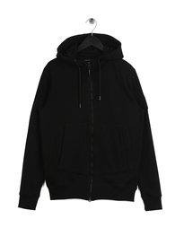 Marshall Artist Siren Zip Through Hoodie Black