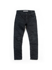 MASTERCRAFT UNION SKIN 3D BLACK SELVEDGE DENIM JEAN