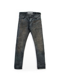 MASTERCRAFT UNION SKIN GREY RESIN SELVEDGE DENIM JEAN