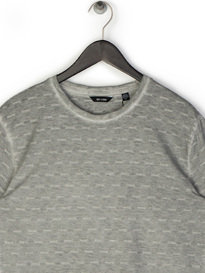 Only & Sons Matt Longy SS Slub T-Shirt Grey