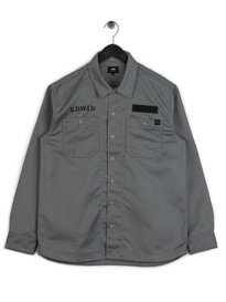 Edwin Mechanic Shirt Grey