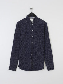 Minimum Pelham Shirt Navy