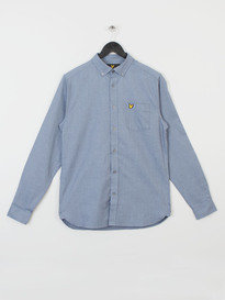 MOULINE OXFORD SHIRT Z99 BLUE
