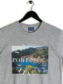 Balzac Via Roma Portofino T-Shirt Grey