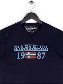 Napapijiri Solin SS T-Shirt Navy