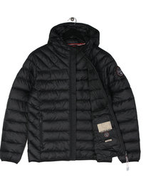 Napapijri Aerons Hooded Jacket Black