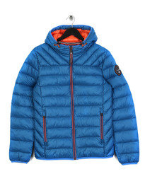 Napapijri Aerons Hooded Jacket Blue