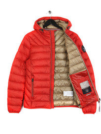 Napapijri Aerons Hooded Jacket Red