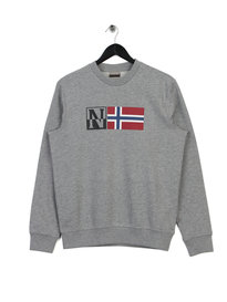 Napapijri Benoos Sweat Grey