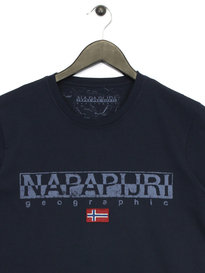 Napapijri Graphic T-Shirt Navy
