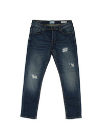 Only & Son Loom Med Blue Breaks Denim