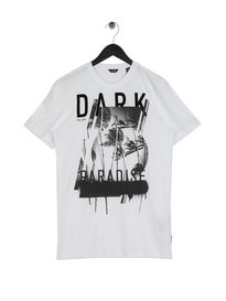 Only & Sons Dark Fitted T-Shirt White