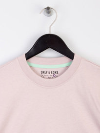Only & Sons Donnie Oversized T-Shirt Pink