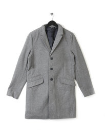 Only & Sons Julian Trench Coat Grey