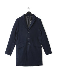 Only & Sons Julian Trench Coat Navy