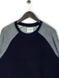 Only & Sons Marc Indigo Crew Sweat Navy