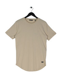 Only & Sons Matt Longy Short Sleeve T-Shirt Brown