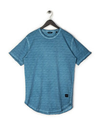 Only & Sons Matt Longy SS Slub T-Shirt Blue