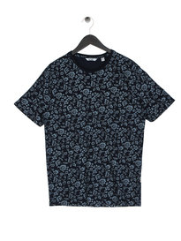 Only & Sons Milo Flower T-Shirt Navy