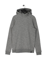 Only & Sons Morten Melange Hoodie Grey