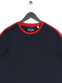 Only & Sons Salvatore Short Sleeve T-Shirt Navy