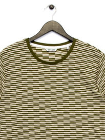 Only & Sons Thyge Curved T-Shirt Green