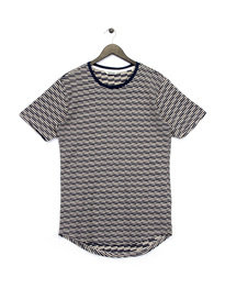 Only & Sons Thyge Curved T-Shirt Navy