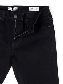 Only & Sons Warp Denim Black