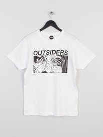 OUTSIDERS APPAREL FEAR TEE WHITE