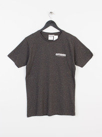 OUTSIDERS APPAREL GRID SPECKLED TEE BLACK