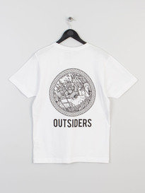 OUTSIDERS APPAREL MEDUSA TEE WHITE