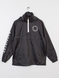 OUTSIDERS APPAREL OA LIGHTWEIGHT WINDBREAKER BLACK