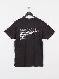 OUTSIDERS APPAREL RAIDERS TEE BLACK