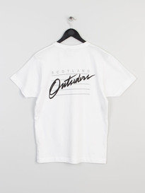 OUTSIDERS APPAREL RAIDERS TEE WHITE