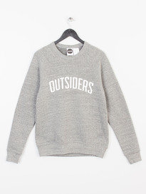 OUTSIDERS APPAREL VARSITY SWEATSHIRT GREY