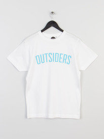 OUTSIDERS APPAREL VARSITY TEE WHITE