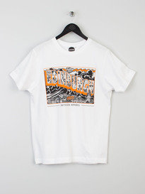 OUTSIDERS TRAINSPOTTING TEE WHITE