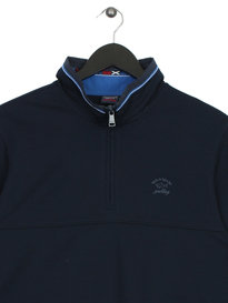 Paul & Shark 1/4 Zip Sweat Navy