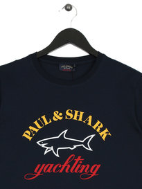 Paul & Shark Big Logo T-Shirt Navy