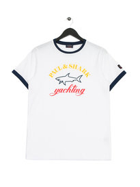 Paul & Shark Big Logo T-Shirt White