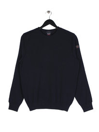 Paul & Shark Knit Crew Navy