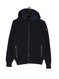 Paul & Shark Knitted Jacket Navy