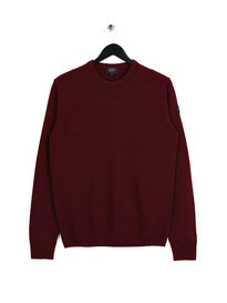 Paul & Shark Knitted Crewneck Burgundy