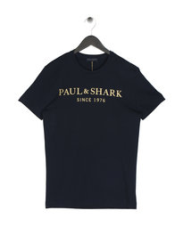 Paul & Shark Logo T-Shirt Navy