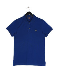 Paul & Shark Logo Polo Short Sleeve Shirt Blue
