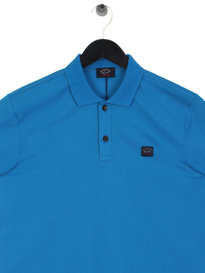 Paul & Shark Logo Polo Shirt Blue