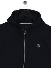 Paul & Shark Logo Zip Up Hoody Navy