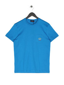 Paul & Shark Pocket Logo T-Shirt Blue