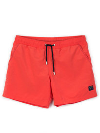 Paul & Shark Woven Swim Shorts Red
